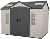 LIFETIME 60005 Outdoor Storage Shed with Windows