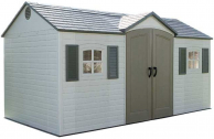 Storage Shed, Side Entry With Windows, 15′ X 8′