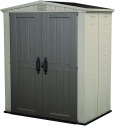 Keter Factor 6×3 Outdoor Storage Shed Kit-Perfect to Store Patio Furniture