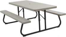 Lifetime Products 2119 6-Feet Folding Picnic Table