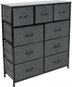 Sorbus Dresser with 9 Drawers – Furniture Storage Chest Tower Unit for Bedroom, Hallway
