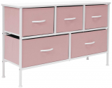 Sorbus Dresser with 5 Drawers – Furniture Storage Chest for Kid's